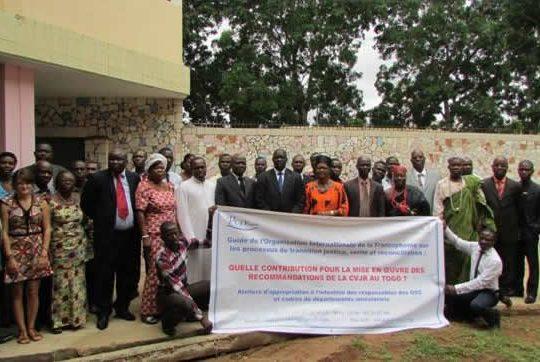 Togo: La société civile en atelier sur le processus de la justice transitionnelle