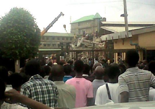 Effondrement d'un immeuble à SCOAN, ce qui s'est réellement passé