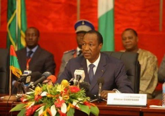 Burkina Faso : Fuite ou Démission de Blaise Campaoré