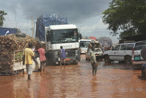 innondation route