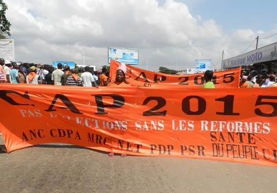 Révision des listes électorales dans la Zone 1: un échec selon le CAP 2015