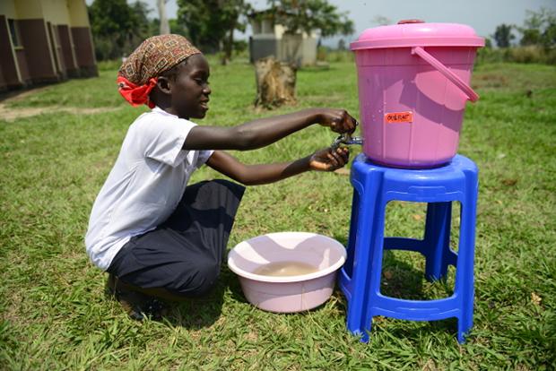 lavage de main ebola