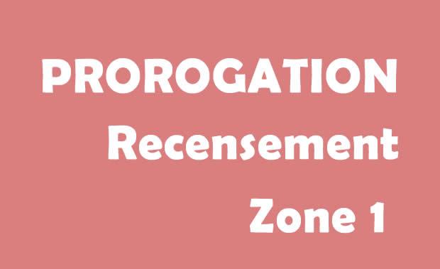 prorogation