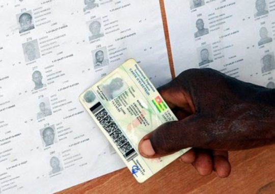 Révision des listes électorales : Doit-on reprendre l'opération dans la zone 1 ?