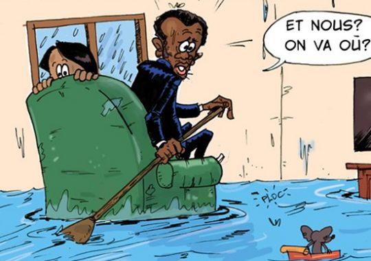 Grande pluie ce mercredi à Lomé: Des quartiers inondés…