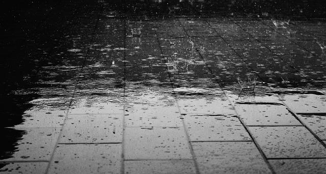 pluie à lomé