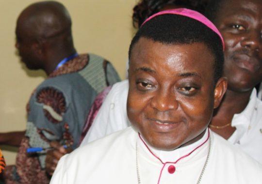 Togo : Le message de Mgr Barrigah pour la fin d'année