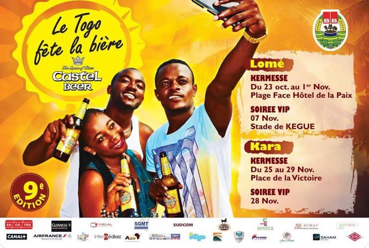 fete bière Togo