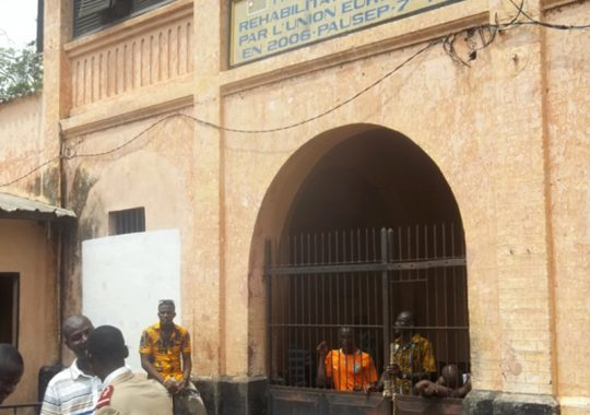 Mettre fin à la surpopulation carcérale au Togo