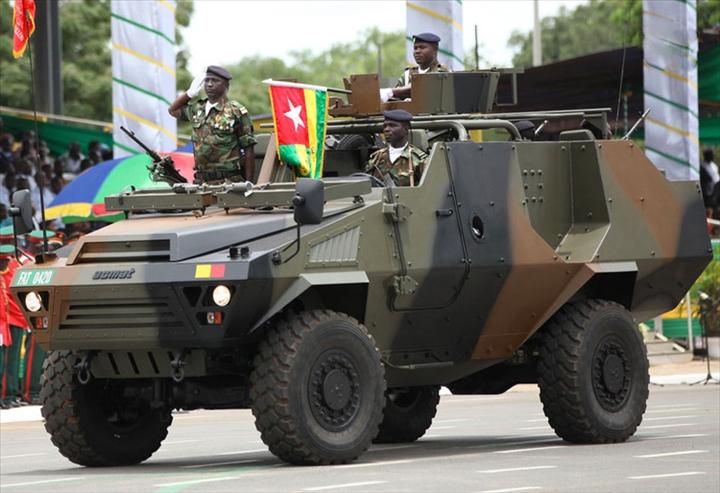 fat armée togolaise