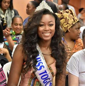 D'almeida Balbina Kokoe Miss Togo 2016