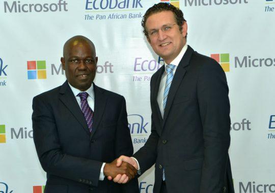 Microsoft et Ecobank s'accordent pour mener la transformation numérique en Afrique
