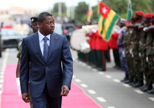 Togo : Faure Gnassingbé très confiant en son armée
