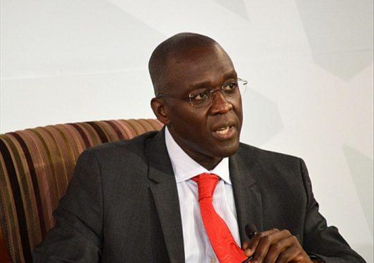 Makhtar Diop, le Vice-Président de la Banque Mondiale pour l'Afrique, en séjour au Togo