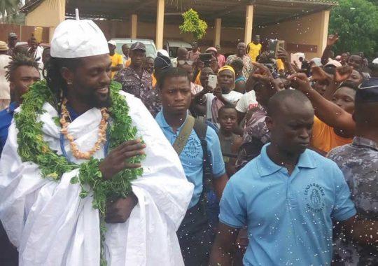 Quand Adébayor devient «notable» à Kpalimé