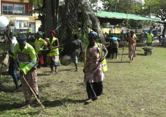 La propreté du Togo est une affaire commune
