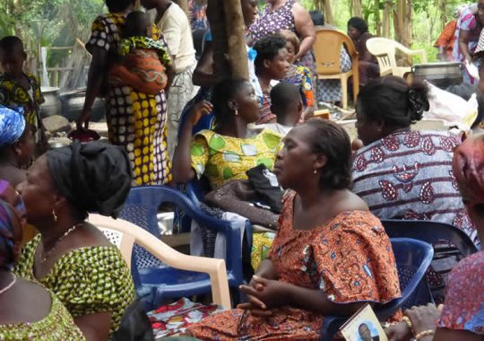Des cérémonies de veuvages humanisées et rapides au Togo