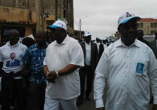 Togo : Les partisans et sympathisant de l'UNIR dans les rues de Lomé
