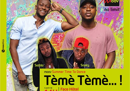 Moov Summer / Time to Dance 2017, le show des vacances au Togo