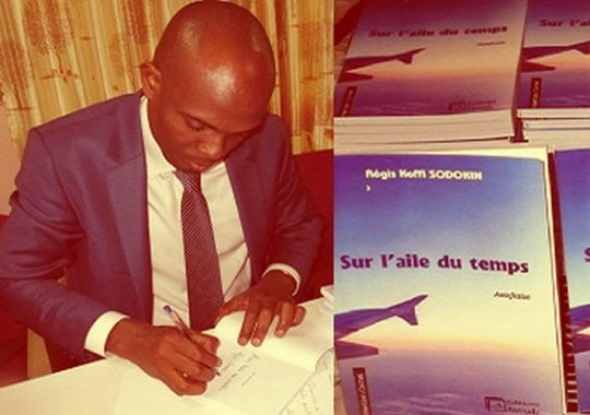 Littératureau Togo : Régis SODOKIN présente «Sur l'aile du temps»