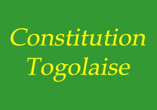 Togo : Retour sur l'essentiel des réflexions du colloque sur la Constitution de 1992