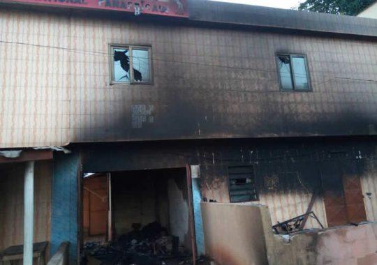 Incendie des marchés de Lomé et Kara, incendie au siège du PNP, qui voit le rapport?