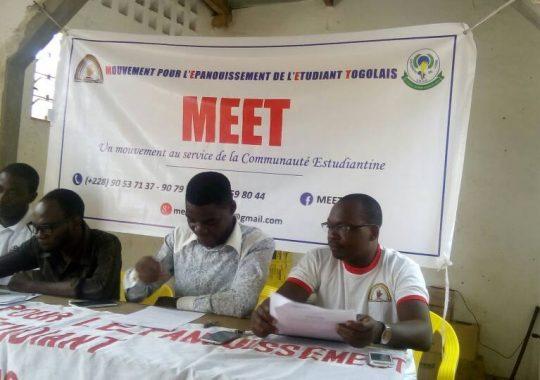 Le MEET reconnaît les efforts des autorités universitaires de Lomé