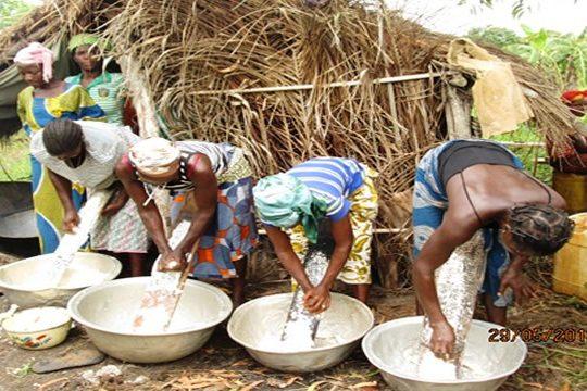 Les produits agroalimentaires en exposition à Lomé