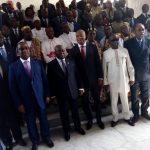 Dialogue inter-togolais : Menu et composition des deux équipes