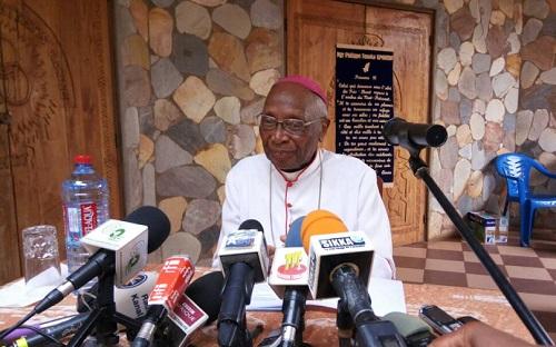 Selon Mgr Kpdzro, Faure Gnassingbé ne devrait pas se représenter en 2020