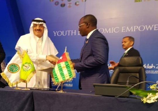Arabie Saoudite : La Banque Islamique de Développement (BID) accorde 11 milliards de F CFA au Togo