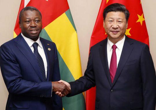 La Chine et le Togo sont de bons camarades