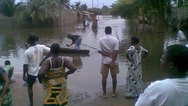 inondation togo