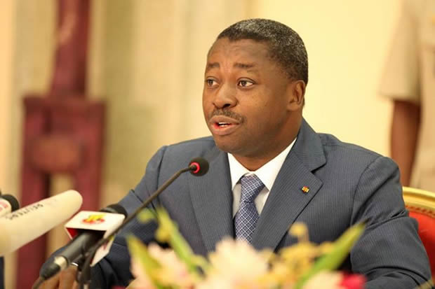 Faure Gnassingbé reconnait le droit de manifester…