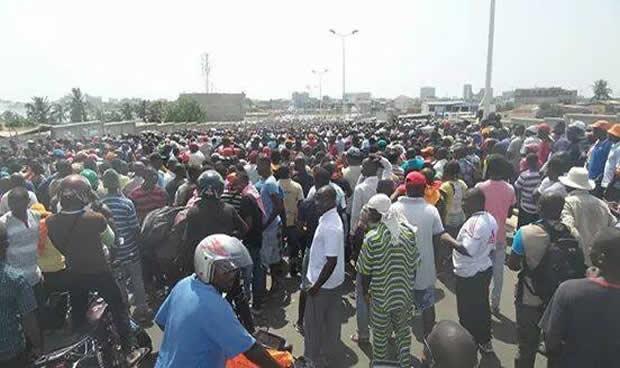 Togo : La marche de l'opposition et des ODDH ce 14 janvier a tourné au vinaigre