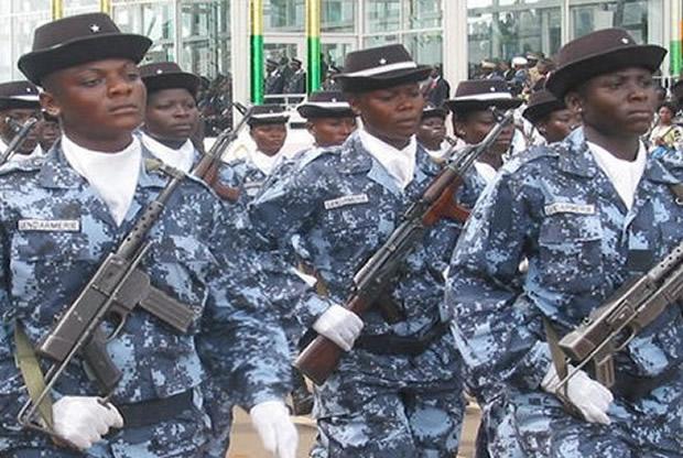 Présidentielle 2015 au Togo, les forces de l'ordre votent le 22 avril