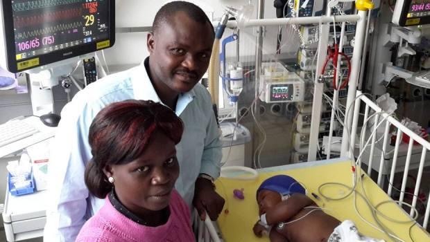 ONG Aimes-Afrique : l'enfant Natalma Kolani a été opéré avec succès en Allemagne