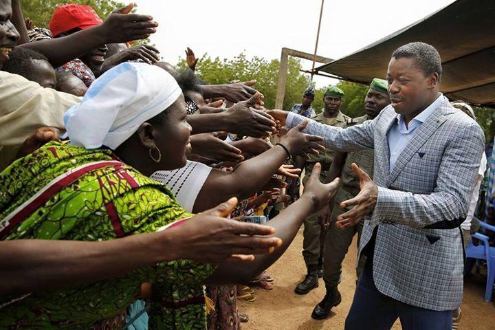 Présidentielle 2015 au Togo : Faure Gnassingbé à Notsè