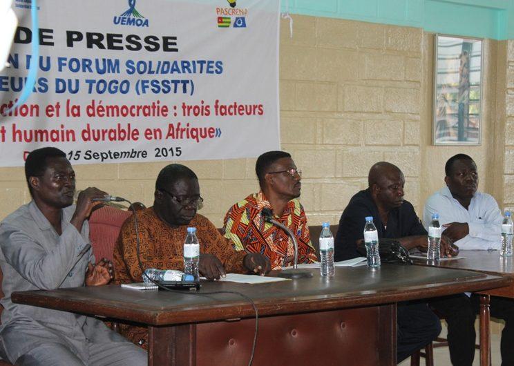 Atakpamé à l'honneur du 5è Forum Solidarités Sociales des Travailleurs du Togo