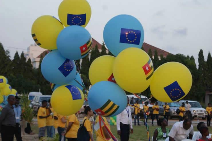 Célébration des 60 ans d'anniversaire de l'Union Européenne (UE) au Togo