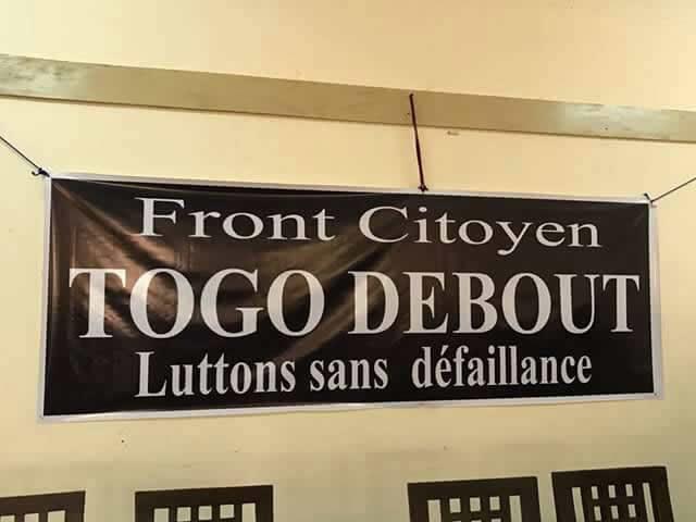 """La société civile togolaise crée le """"Mouvement Togo Debout"""""""