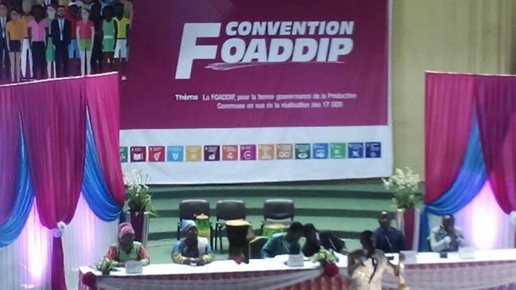 Convention de la FOADDIP et renouvellement de l'instance dirigeante