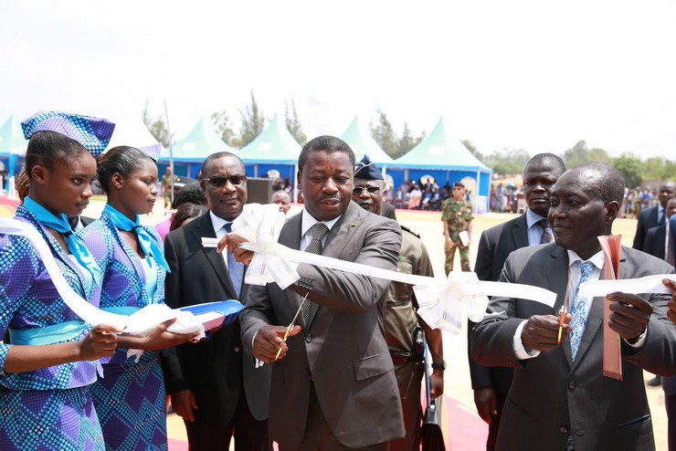 Inauguration de l'usine Do Pharma au Togo