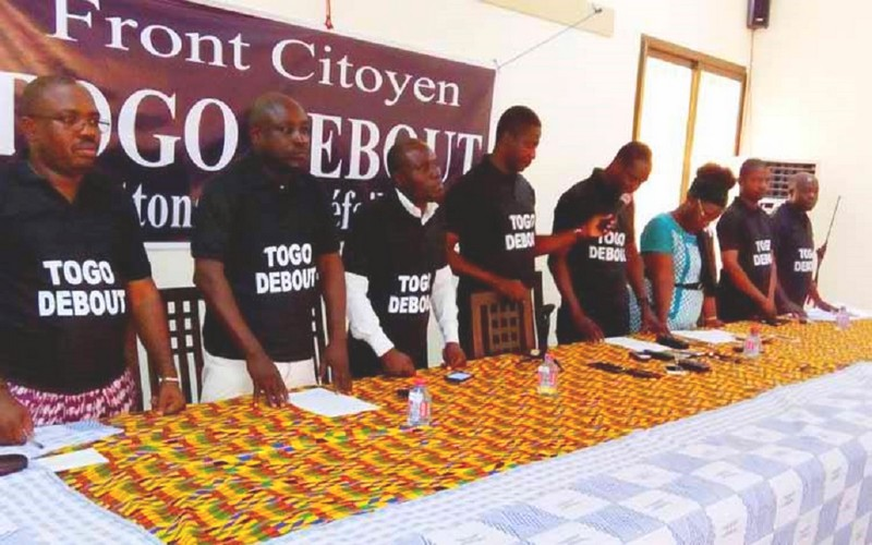 Affaire Bolloré et Putsch au Burkina «Togo Debout» interpelle le gouvernement