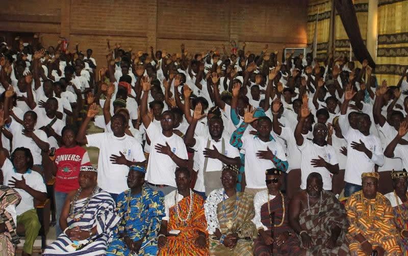 Togo : Des jeunes volontaires prêtent serment