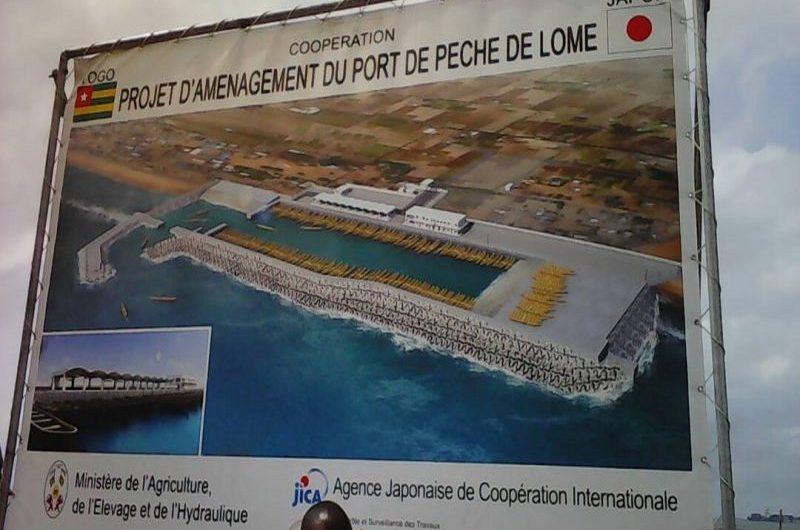 Nouveau port de pêche, les travaux avancent