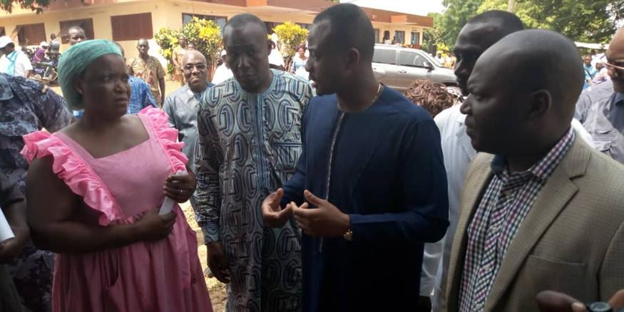 L'honorable Mey Gnassingbé répond aux doléances de la population d'Amou oblo