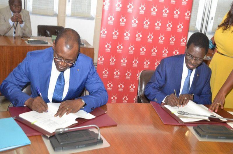 La BOAD donne 20 milliards au Togo pour l'aménagement et le Bitumage de la Route nationale n°17.