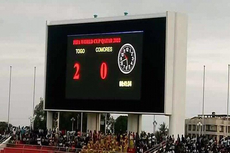 Préliminaire Coupe du monde Qatar 2022: le Togo obtient son ticket pour la phase de groupe.
