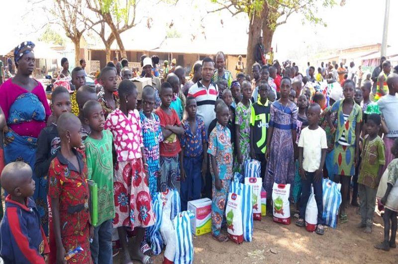 Le député-maire Mey Gnassingbé au chevet des enfants démunis de sa commune
